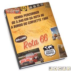 Livro - Auto+ - Legendary Routes 66 - com DVD - os 3.940km da Rota 66 - cada (unidade) - 93030