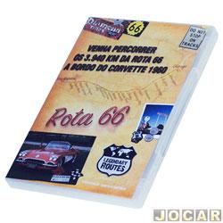 DVD - Auto+ - Legendary Routes 66 - os 3.940 km da Rota 66 - 84 minutos - cada (unidade) - 93031