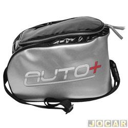 Bolsa térmica - Auto+ - com alça regulavel - preto e prata - cada (unidade) - 93042