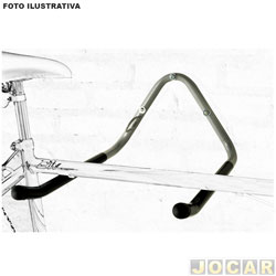 Suporte para bicicleta - Eqmax - de parede - para 2 bicicletas - cada (unidade) - 1281