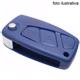 Suporte para encaixe da chave - canivete - Fiat - azul - cada (unidade)
