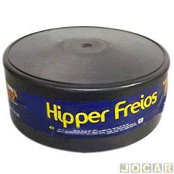 Tambor de freio - alternativo - Hipper Freios - Scenic 1999 até 2001 - traseiro - cada (unidade) - 70231T/HF322B