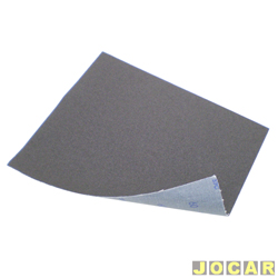 Lixa de ferro - N� 80 - preta - cada (unidade)