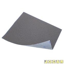 Lixa de ferro - Nº 40 - preta - cada (unidade)