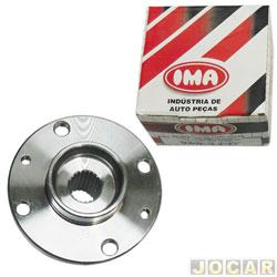Cubo de roda - IMA - Scenic 1999 até 2009 - Sandero 1.6 16v - Kangoo sportway  - forjado  - dianteiro - cada (unidade) - AL-945