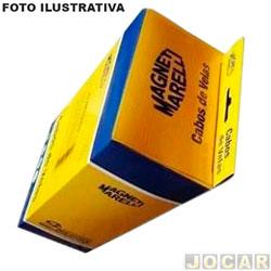 Cabo de vela - Magneti Marelli - Palio/Dobló/Brava/Siena/Strada - 1.6 mpi 16V - 1999 até 2006 - jogo - CVMT0802