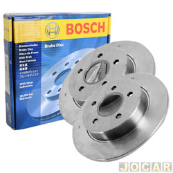 Disco de freio - Bosch - Blazer/S10 1997 até 2000 - ventilado s/cubo - dianteiro - par - DF2796