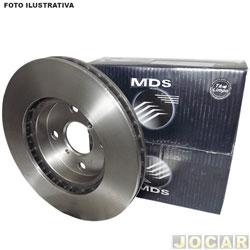 Disco de freio - MDS - C40/D40 1985 em diante - Silverado 1997 até 2001 - ventilado - 312 mm - dianteiro - cada (unidade) - D-18C