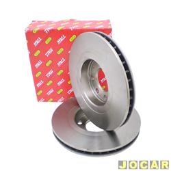 Disco de freio - Varga - Omega/Suprema - CD - 1992 at� 1998 - ventilado - 296 mm - dianteiro - par - RCDI00830