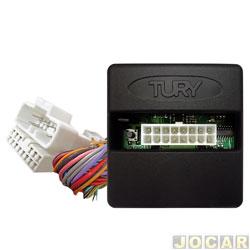 Módulo de regulagem do retrovisor - Tury - Cerato Koup 2010 até 2013 - Tilt down - rebatimento - plug play - cada (unidade) - PARK3.2.4D
