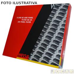 Filtro de ar do motor - Wega filtros - Corolla LE 1.8 16V 1993 até 1997 - cada (unidade) - JFA249